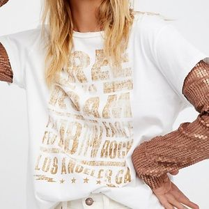Free People Backstage Tee